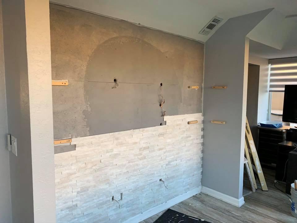 custom feature walls
